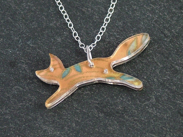 Mini Fox Necklace