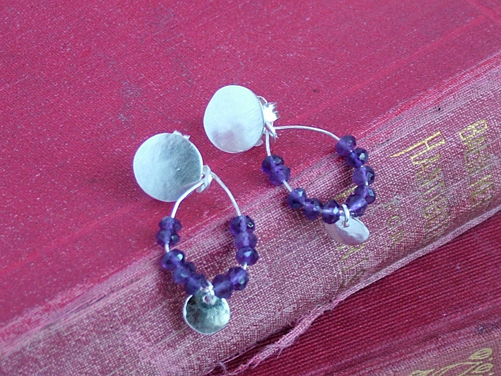 Sweet Amethyst Earrings