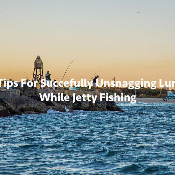 3 Tips For Succefully Unsnagging Lures While Jetty Fishing
