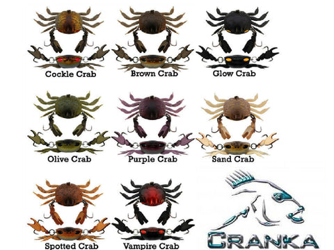 Cranka Crab Colors