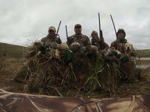 Hunting with friends