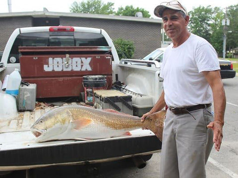 Alabama Redfish State Record