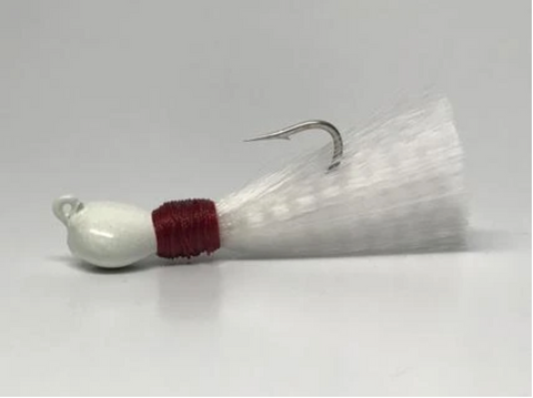 Nylon Skirted Pompano Jig From Hunting and Fishing Depot