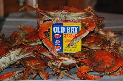 Old Bay and Blue Crabs