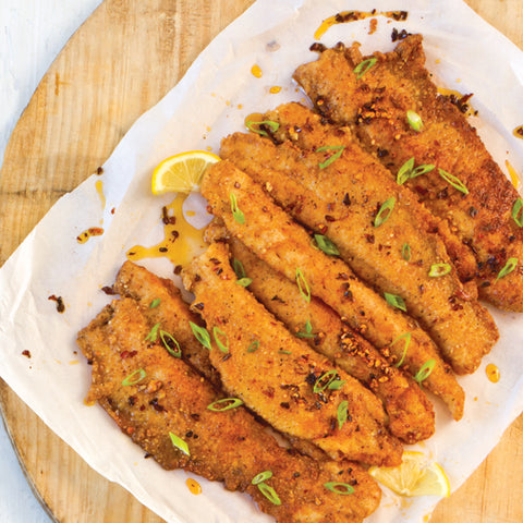 Pecan Crusted Sea Trout