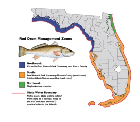 Red Drum Management Zones