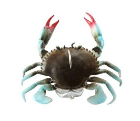 Savage 3D TPE Crab With Stand up jighead