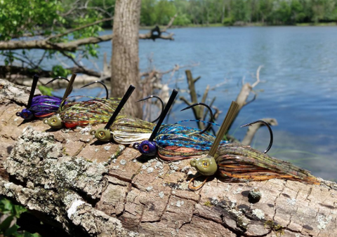 Blue Gills Series of Swim Jigs from @Customyourlure