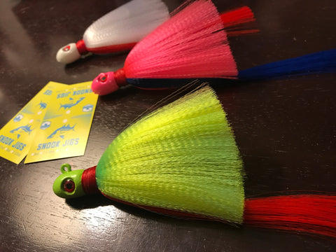 Snook Jigs With Packaging