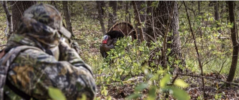 Getting to Close While Turkey Hunting