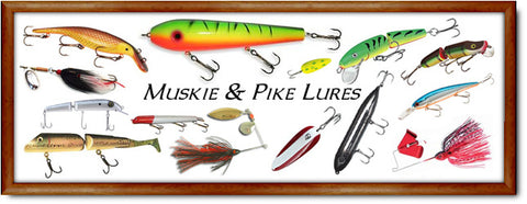 Muskie and Pike Lures