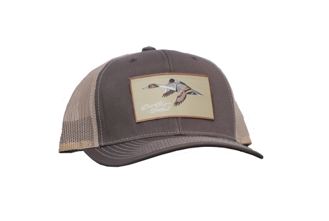 Ultimate Pintail Patch Trucker From East Coast Waterfowl