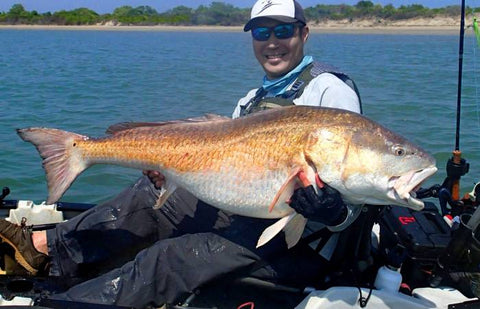 Potential Redfish record Caught In Virginia
