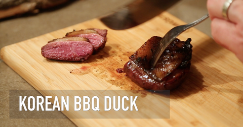 Korean BBQ Duck