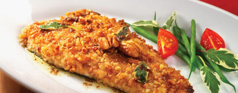 Pecan crusted trout | Hunitng and fishing depot