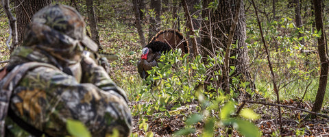 Turkey Hunting Mistake: Getting to close