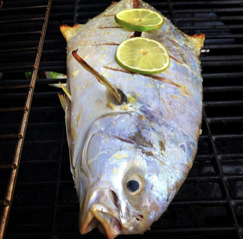 Whole Grilled Pompano