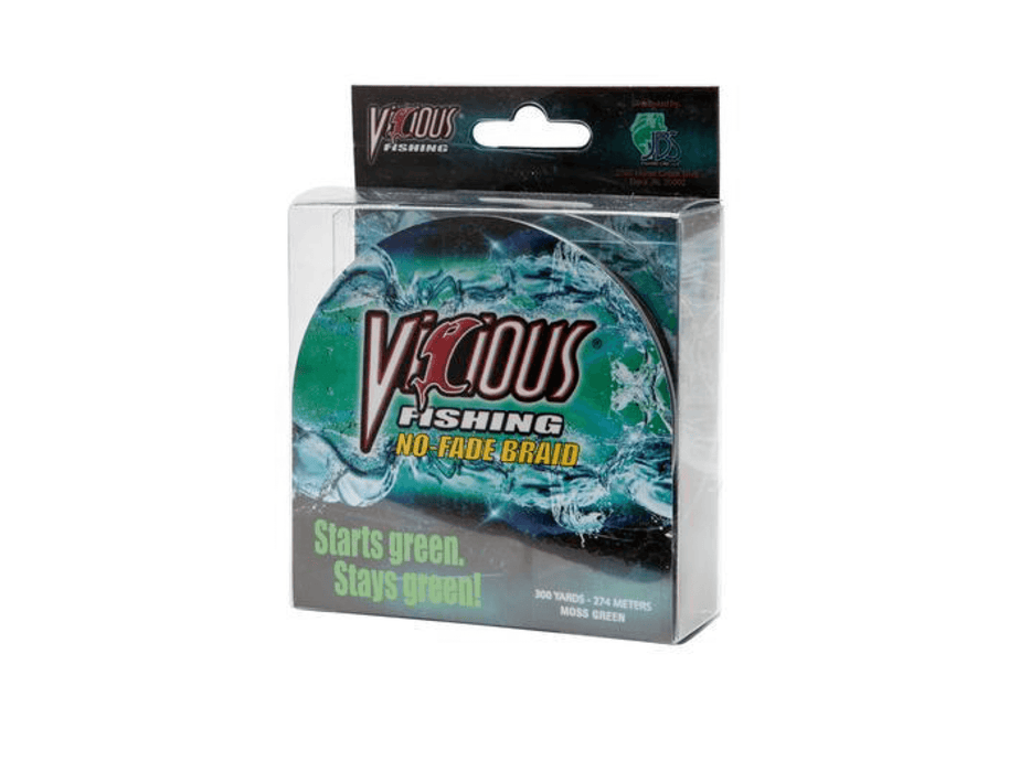 10 lb Vicious No Fade Braided Fishing Line
