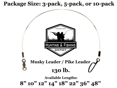 130lb Musky Leaders