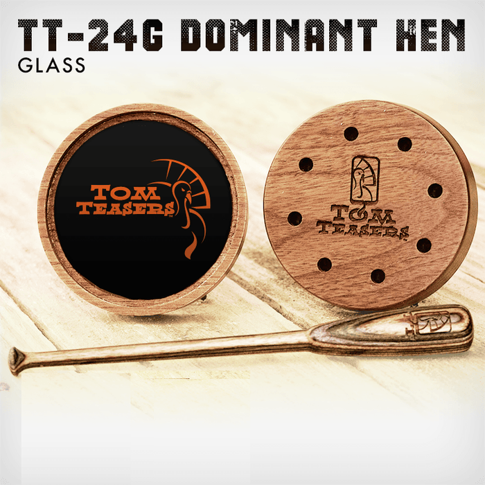 Dominant Hen | Friction Calls | Tom Teasers - Hunting and Fishing Depot