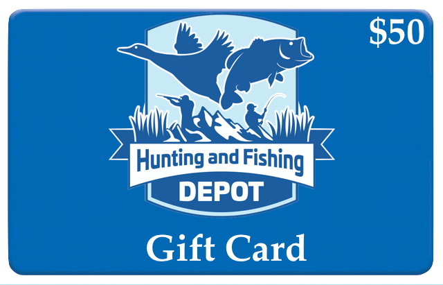 Hunting and fishing depot giftcard for Hunting and fishing gifts