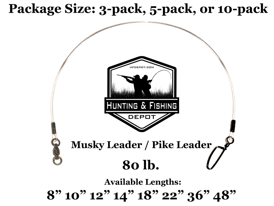 80lb Musky Leaders