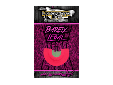 Barely Legal | Diaphragm Turkey Calls | Longbeard Life - Hunting and Fishing Depot