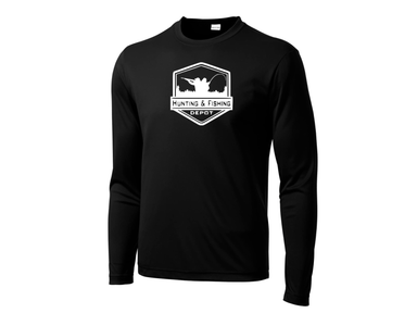 Black Performance Shirt Hunting and Fishing Depot - Hunting and Fishing Depot