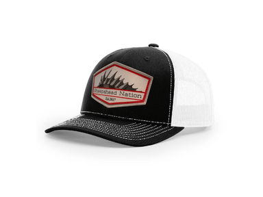 Black / White Sheepshead Nation Hat - Hunting and Fishing Depot