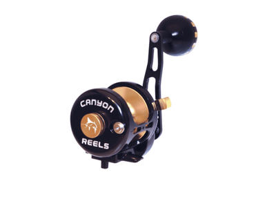 Black / Gold Canyon Reel HS-13