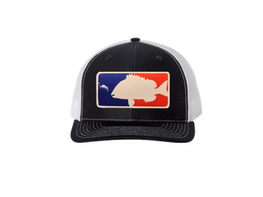 Black / White Major League Sheepshead Trucker Hat | Sheepshead Nation - Hunting and Fishing Depot