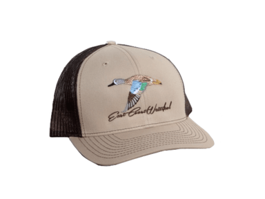 Blue Winged Teal Snap Back Trucker Hat | East Coast Waterfowl - Hunting and Fishing Depot