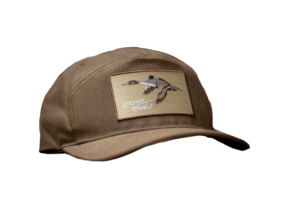 Brown 7 Panel Waxed Cotton Pintail Patch