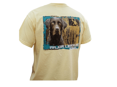 Brown Lab Retriever | Major League Fowl  | T-shirt - Hunting and Fishing Depot