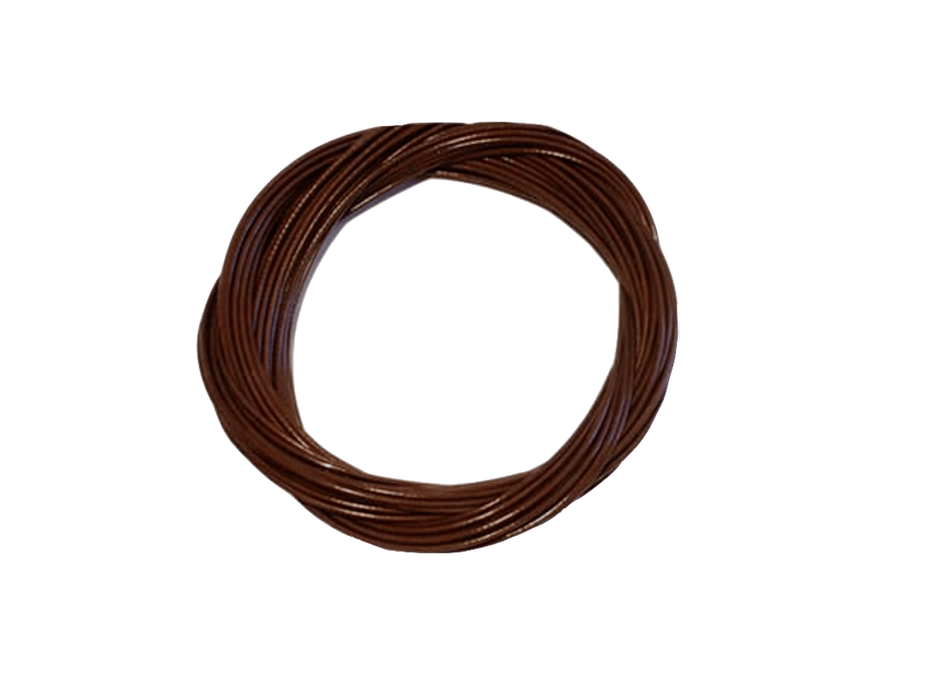 Brown PVC Coated Wire
