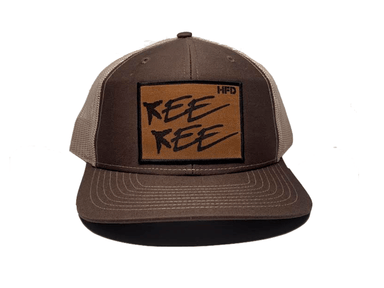 Brown / Khaki Kee Kee Turkey Logo Hat - Hunting and Fishing Depot