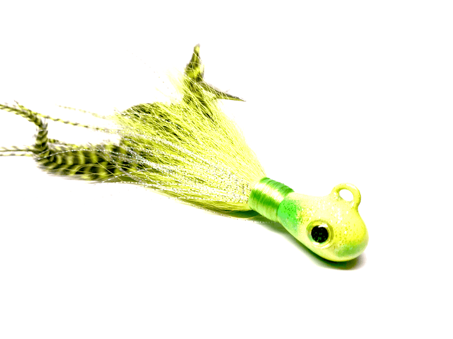 Bugeye Crazy Chartreuse Cobia Jig