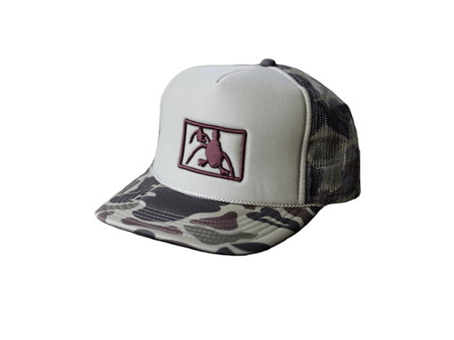 Old School Camo Foam Trucker | Major League Waterfowl