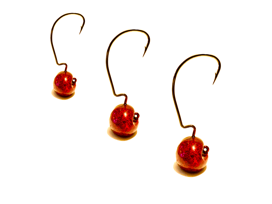Candy Apple EWG Ned Rig Stand Up Jigs 3pk
