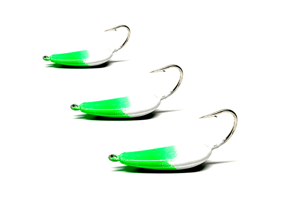 Candy Green Pompano Jigs