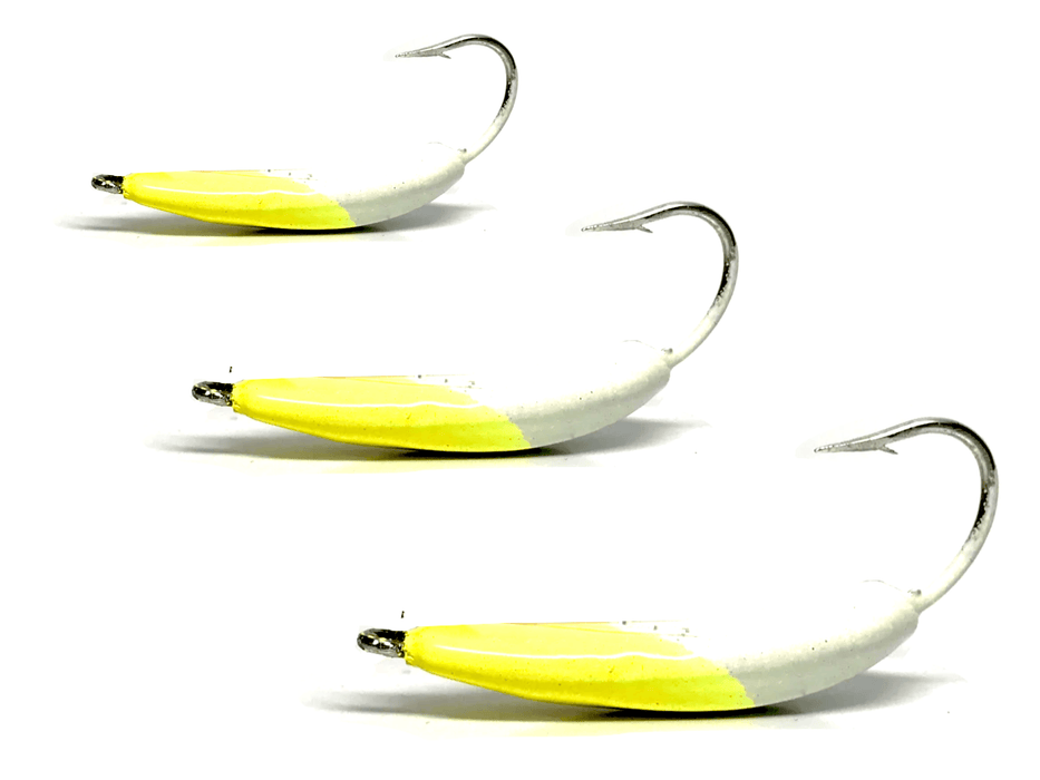Pompano Jigs: Candy Yellow | by Hunting and Fishing Depot - Hunting and Fishing Depot