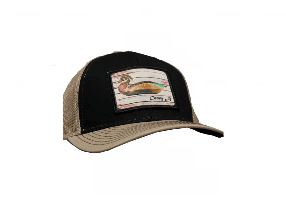 Heritage Casey A Wood Duck Decoys Patch Trucker Hat | East Coast Waterfowl - Hunting and Fishing Depot