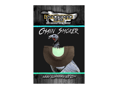 Chain Smoker | Diaphragm Turkey Calls | Longbeard Life - Hunting and Fishing Depot