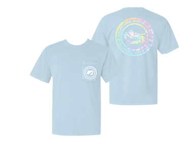 Halocline Tie-Die Crab Pocket T-shirt
