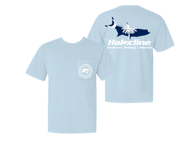 Halocline South Carolina Tarpon Pocket T-shirt - Hunting and Fishing Depot