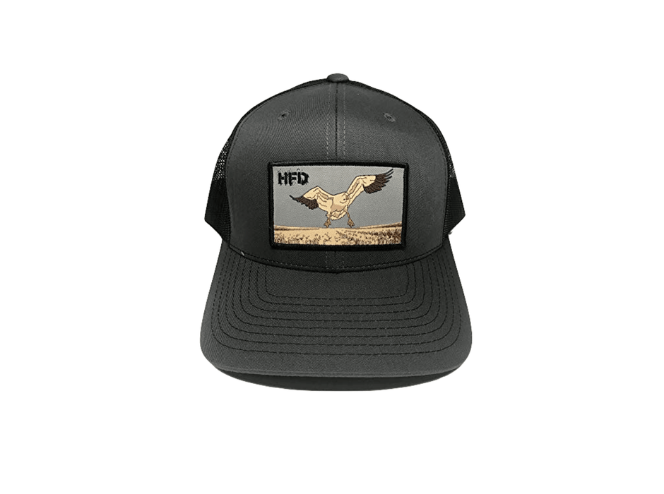Charcoal/Grey Goose Hat For Snow Goose Hunting