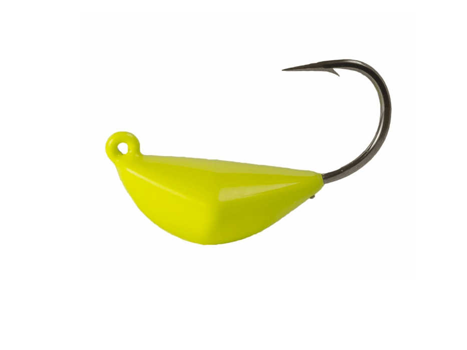 Chartreuse Bottom Sweeper Jigs