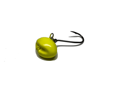 Yellow Chartreuse | Sheepshead Jigs with Split Rings - Hunting and Fishing Depot