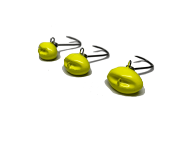 Chartreuse Split Ring Sheepshead Jigs