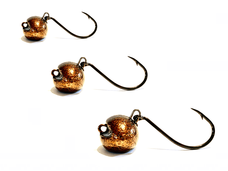 Copper Flakes Sheepshead Jigs - Hunting and Fishing Depot